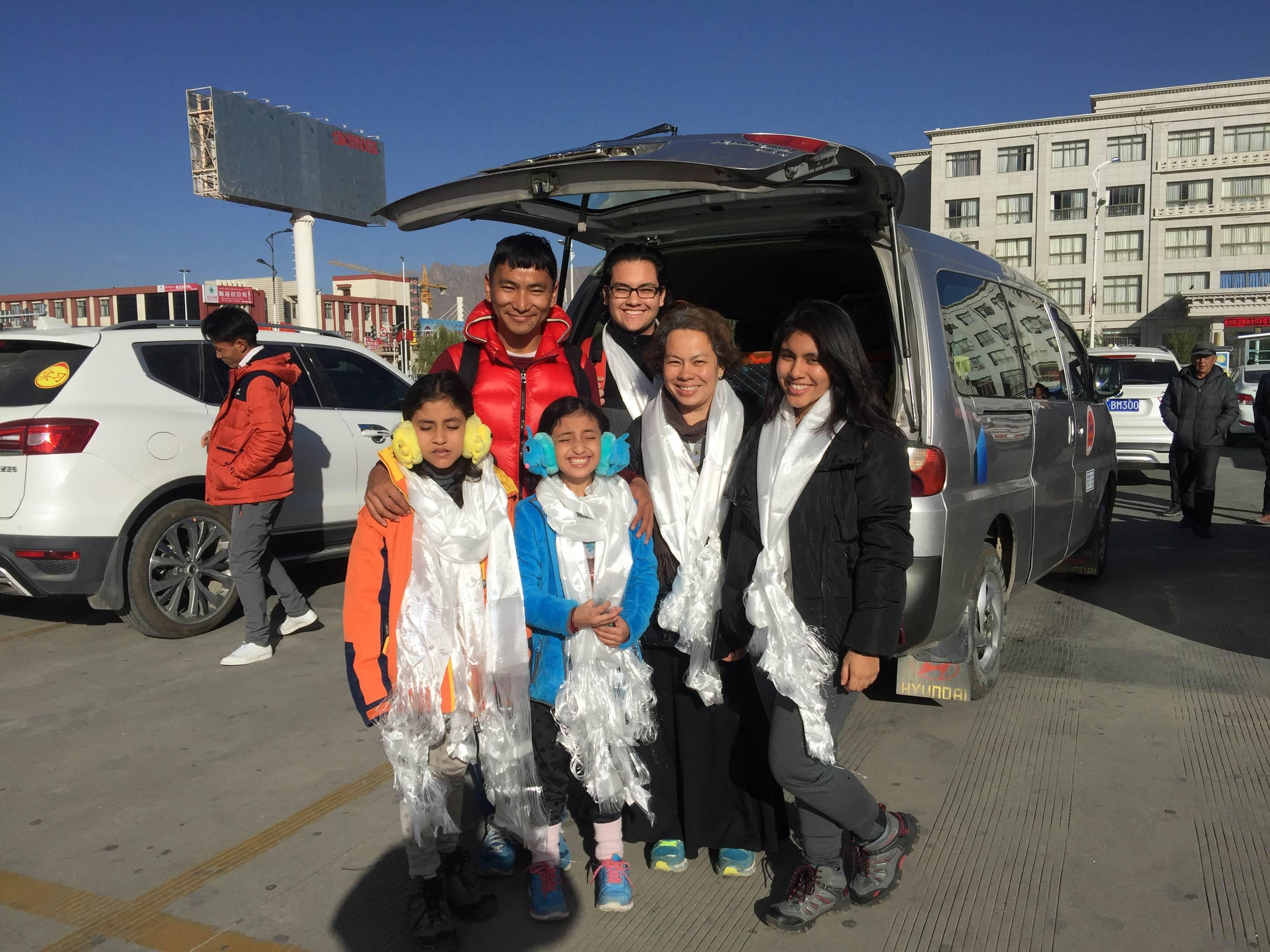 Tenzin Dhondup With Precious Travelers Your Tibetan Travel Expert In Tibet