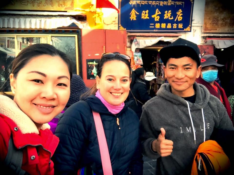 Tenzin Dhondup With Precious Travelers Your Tibetan Travel Expert In Tibet